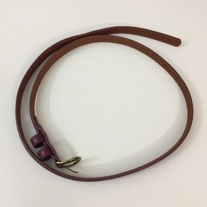 3 for $19 ❤️Worn once Uniqlo leather belt Medium
